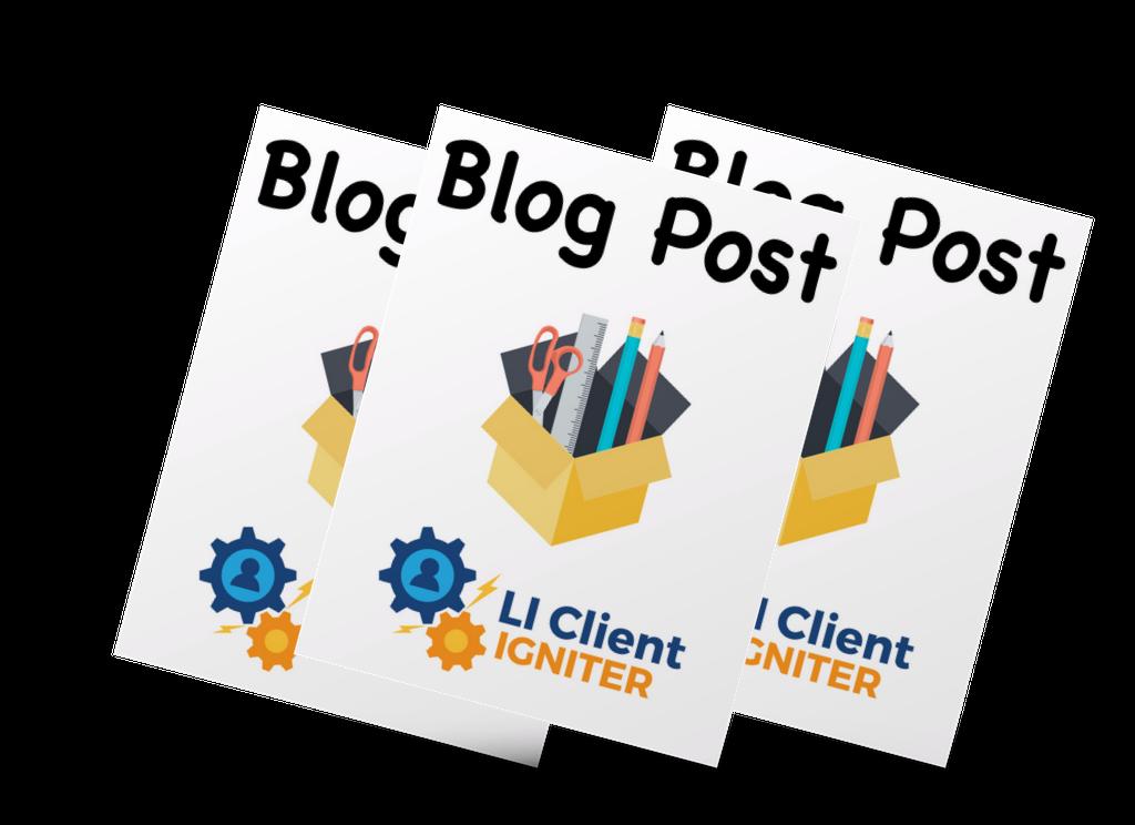 blog post copy